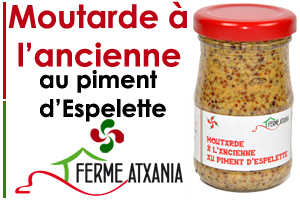 Moutarde a l'ancienne au piment d'espelette